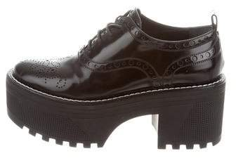 Louis Vuitton 2016 Fighter Platform Oxfords