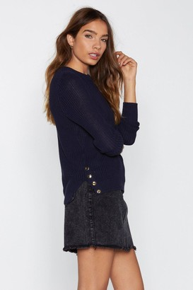 Nasty Gal Raise Me Up Ribbed Sweater