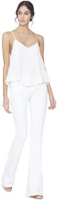 White Emmeline Handkerchief Boho Tank $195 thestylecure.com