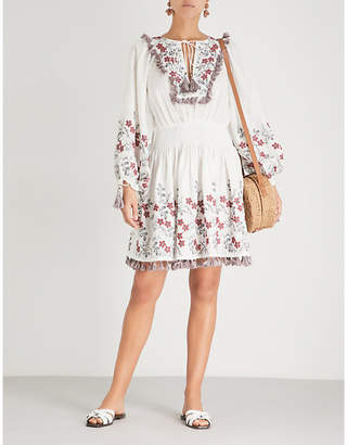 Zimmermann Bayou linen mini dress