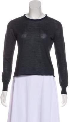 Celine Wool & Silk-Blend Top