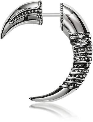 Thomas Sabo Talon Blackened Sterling Silver Earrings