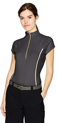 Cutter & Buck Women's Cap Sleeve Clutch Zip Polo