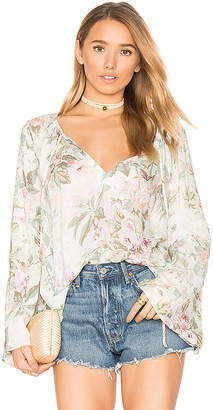 MAJORELLE Osaka Top in White $158 thestylecure.com