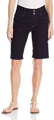 Lee Indigo Women's Waist Smoother Denim Bermuda Short