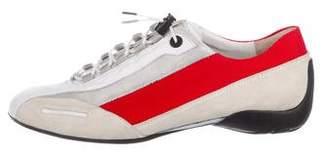 Paul Green Low-Heel Leather Sneakers