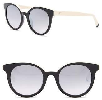 Web WE0195 Round Acetate 51mm Sunglasses