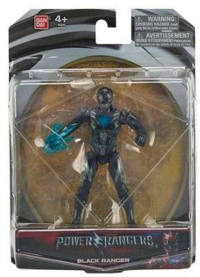 Power Rangers Movie 5 Action Figure - Black Ranger