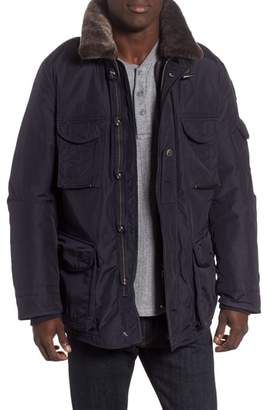 Parajumpers 700 Fill Power Down Field Jacket with Faux Fur Collar
