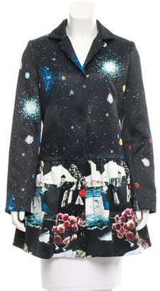 Rachel by Rachel Roy Printed Constellation Blazer w/ Tags $85 thestylecure.com