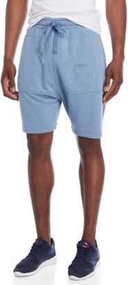 Puma Archive Embossed Logo Bermuda Knit Shorts