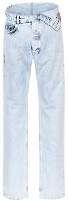 Y/Project Asymmetric straight-leg jeans