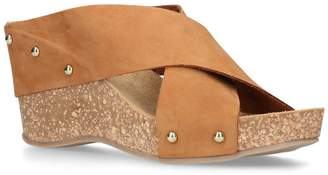 Carvela SootySuede Wedges 80