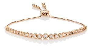 Sara Weinstock Women's Isadora Floret Bolo Bracelet-Gold