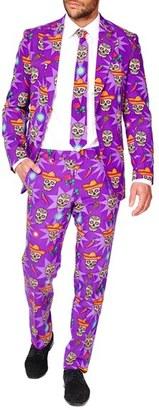 Men's Opposuits 'El Muerto' Trim Fit Two-Piece Suit With Tie $99.99 thestylecure.com