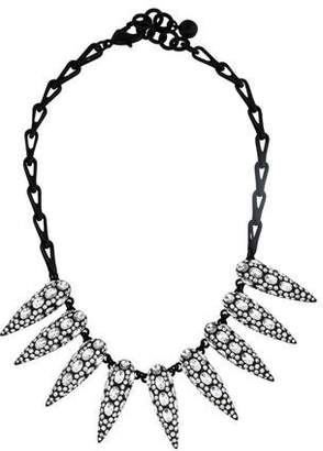 Lulu Frost Crystal Spike Necklace $175 thestylecure.com