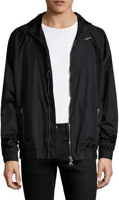 MSGM Elasticized Hooded Jacket