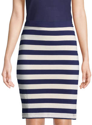 Mds Stripes Paley Pencil Skirt