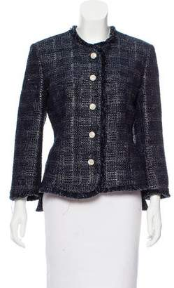 Theyskens' Theory Tweed Blazer Jacket