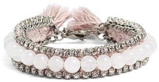 Women's Ettika Rhinestone & Bead Bracelet $50 thestylecure.com