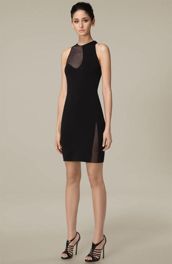 Alexander Wang Mesh Inset Dress