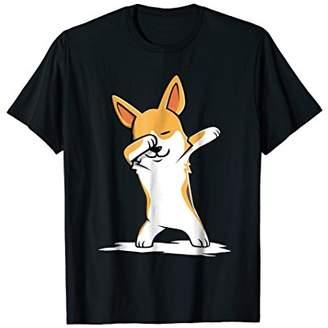 Corgi Cute Dabbing T-Shirt Funny Dab Dance Gift Shirt