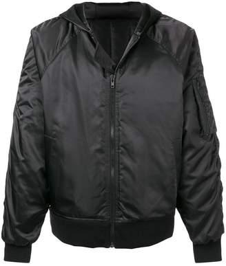 D.Gnak padded bomber jacket