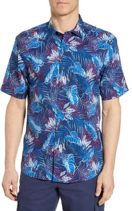 Tommy Bahama Pavia Palms Classic Fit Short Sleeve Button-Up Shirt