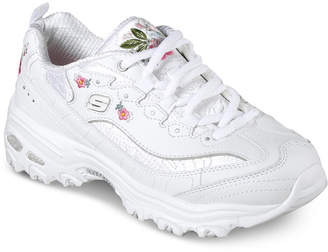 Skechers Women's D-Lites - Bright Blossoms Walking Sneakers from Finish Line