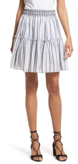 Women's Kate Spade New York Stripe Miniskirt