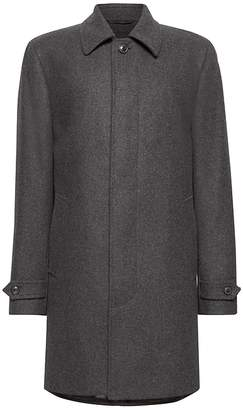 Banana Republic Italian Melton Wool Blend Car Coat