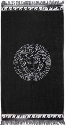 Versace Underwear Reversible French Terry Beach Towel