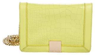 Ted Baker Embossed Leather Crossbody Bag