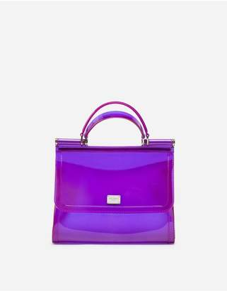 Dolce & Gabbana Rubber Sicily Handbag