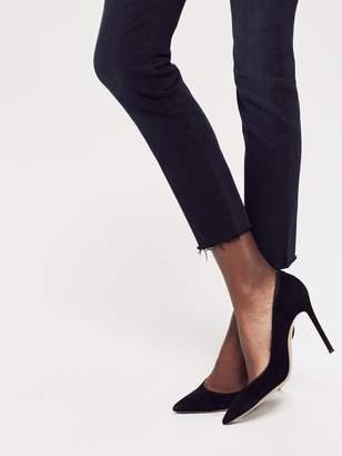 Mother Looker Ankle Fray - Blackbird