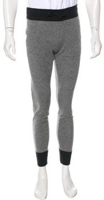 Moncler Tricot Cashmere & Virgin Wool Joggers