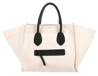 Celine Canvas Mini Luggage Tote