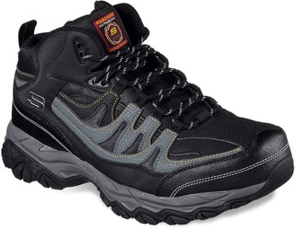 Skechers Relaxed Fit Holdredge Rebem Men's Steel Toe Boots