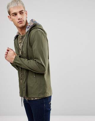 Pretty Green Beckford Jacket in Green