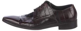 Dolce & Gabbana Eel Derby Shoes