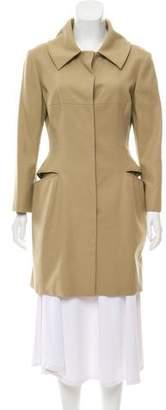 Alexander McQueen Knee-Length Trench Coat