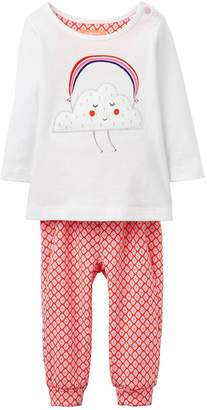 Joules Girls Poppy Applique 2 Piece Outfit