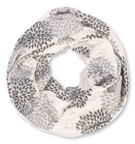 Brika Floral Infinity Scarf