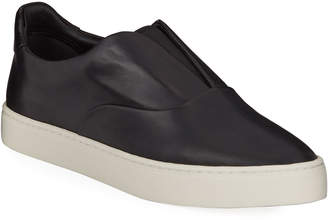 Vince Galiab Leather Slip-On Sneakers