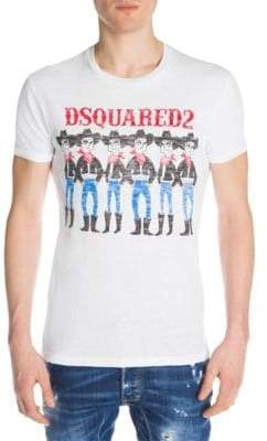 DSQUARED2 Vintage Cowboys Graphic Tee