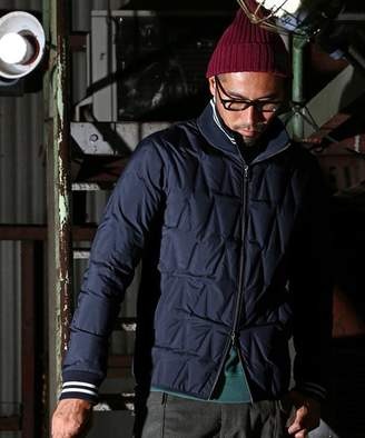 The DUFFER of ST. GEORGE SEAMLESS JACKET: シームレスダウンジャケット