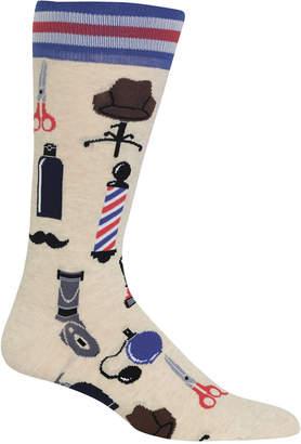 Hot Sox Barbershop Crew Socks