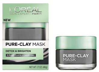 L'Oréal® Paris Detox & Brighten Pure-Clay Mask - 1.7oz $9.99 thestylecure.com