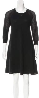 Autumn Cashmere Cashmere Knee-Length Dress
