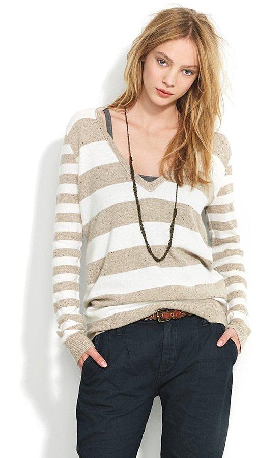 Striped ex-boyfriend sweater